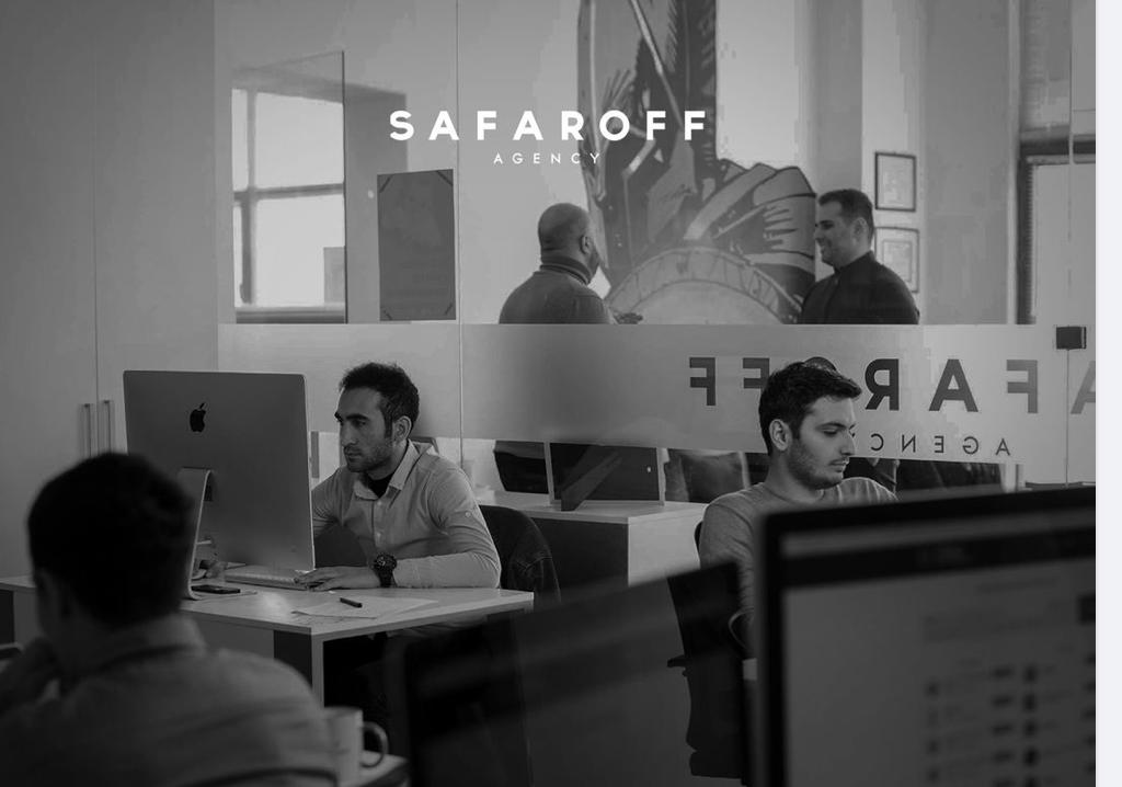 Safaroff Agency Web Design (UI/UX) Azerbaijan