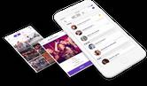 Social App React Native Node.js Project 2