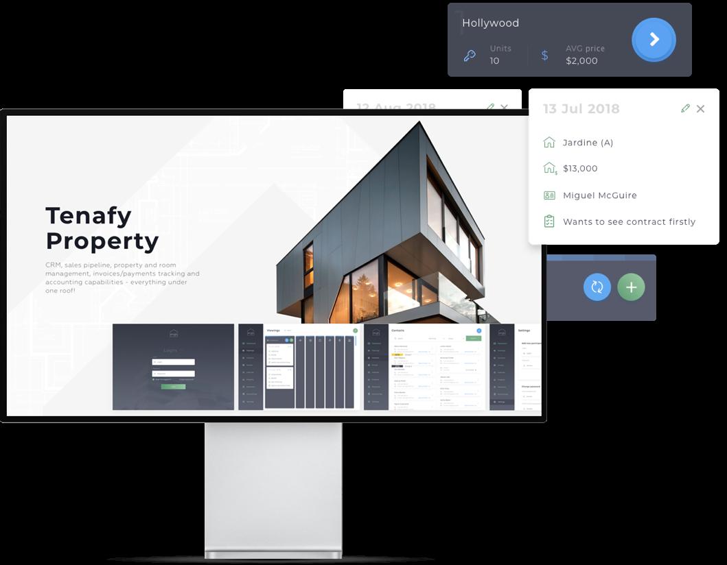 TENAFY PROPERTY Web development Project