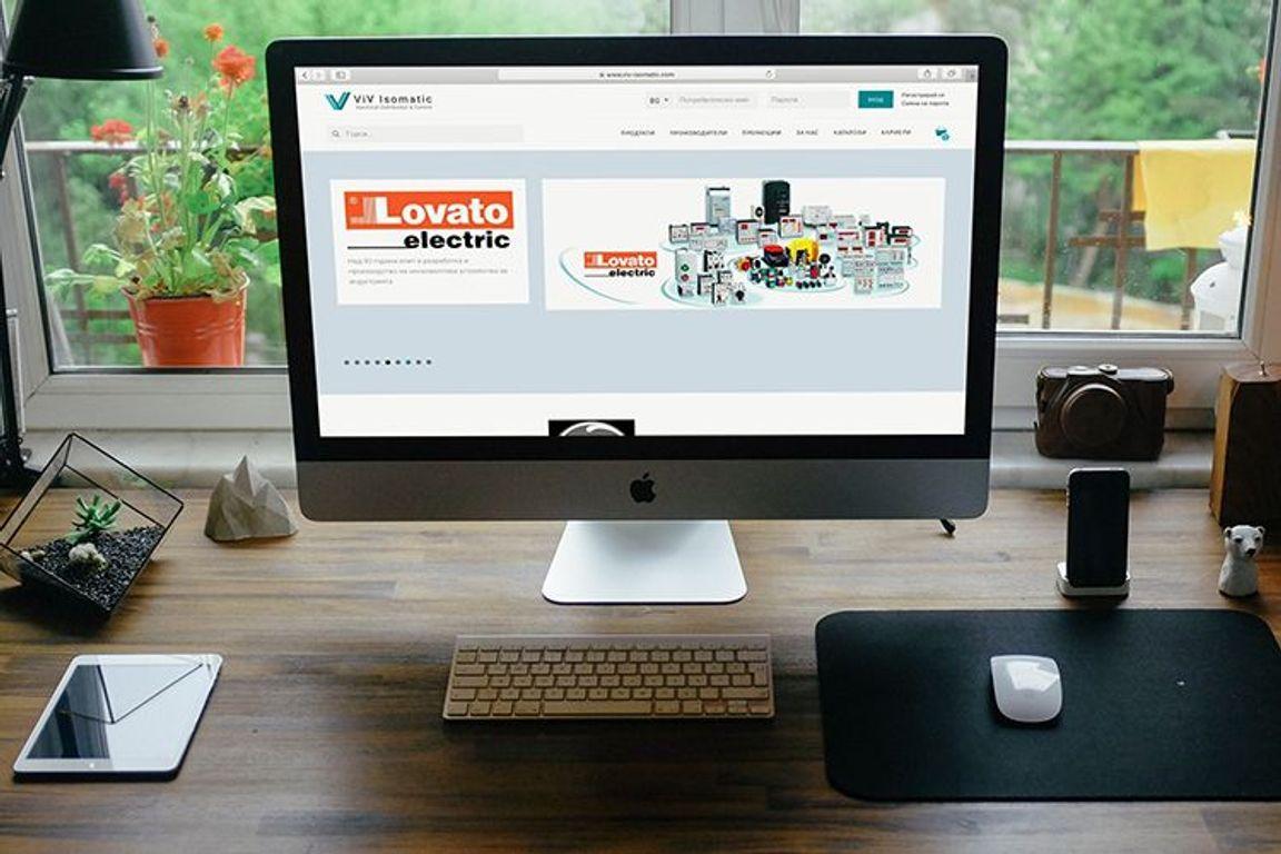VIV ISOMATIC e-commerce onoine store Web Project
