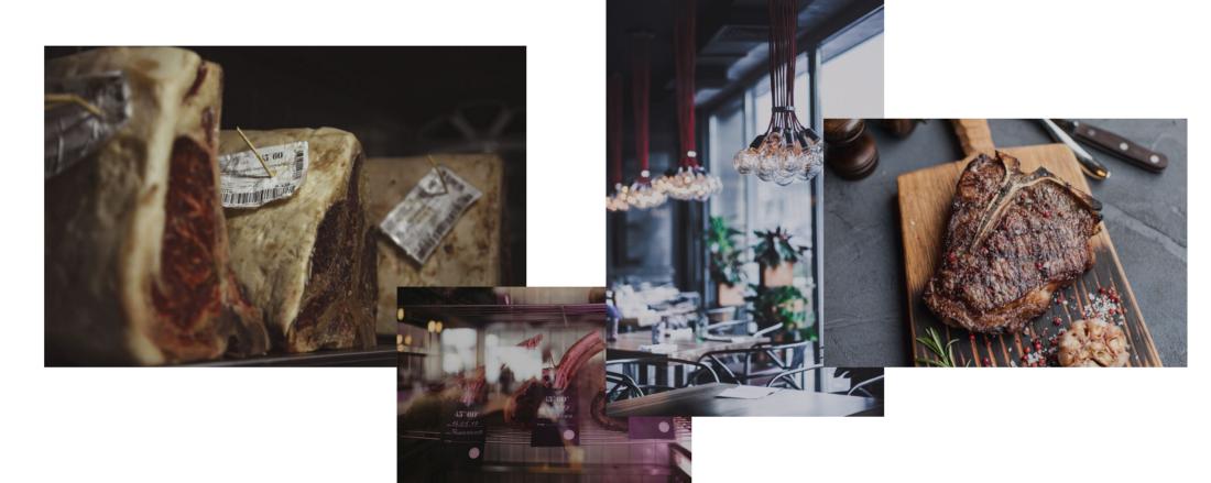 Ресторан 45°/60° Сайт столичного стейк-хауса Development UI/UX Design Project