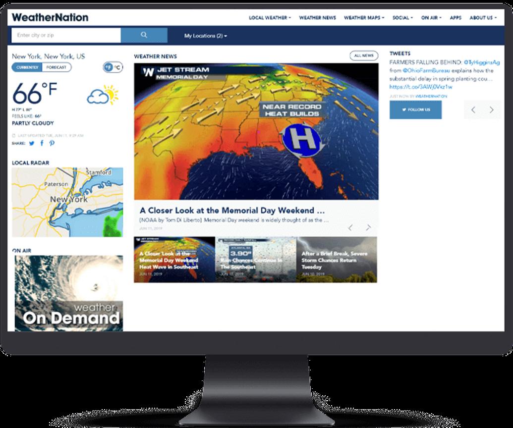 WeatherNation Project
