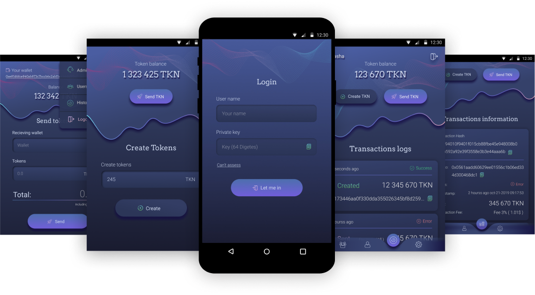 A MultiCryptoWallet with 100 possibilities Project