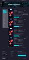 UX/UI Design NEW Game website Gaming UI/UX Design Project 1