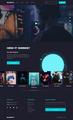 UX/UI Design NEW Game website Gaming UI/UX Design Project 2