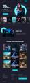 UX/UI Design NEW Game website Gaming UI/UX Design Project 3